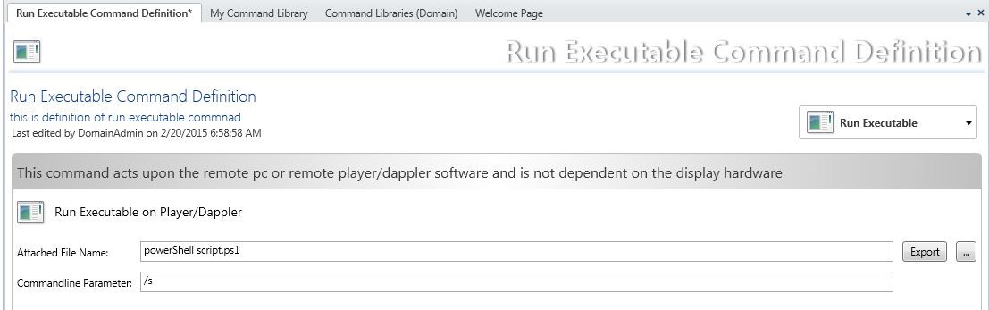 command:run_executable_command – CampaignManager Help Site